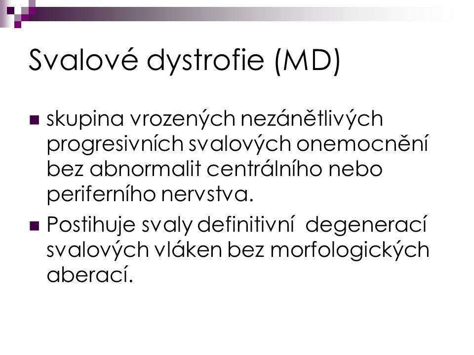 Svalové dystrofie (MD)