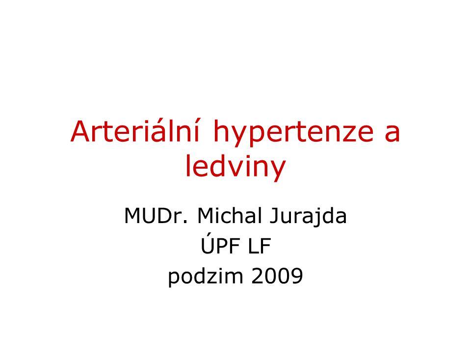 Arteriální hypertenze a ledviny
