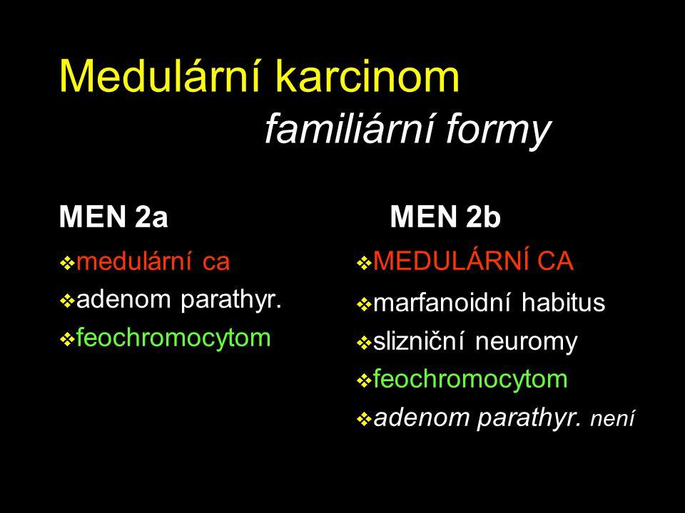 Medulární karcinom familiární formy