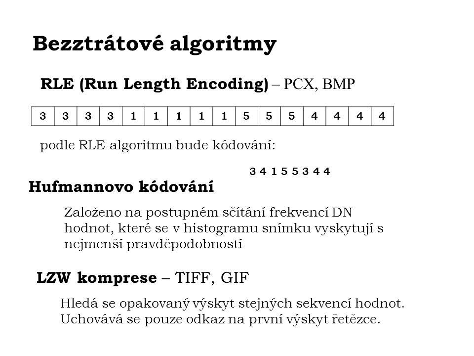 Bezztrátové algoritmy