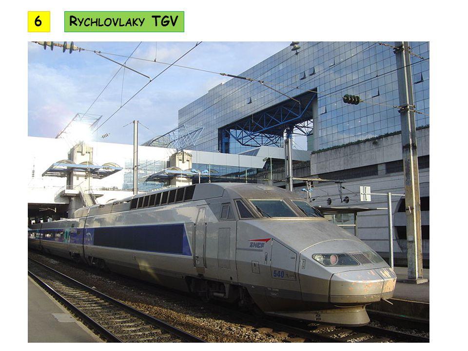 6 Rychlovlaky TGV