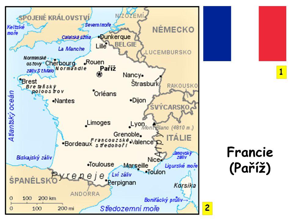 1 Francie (Paříž) 2