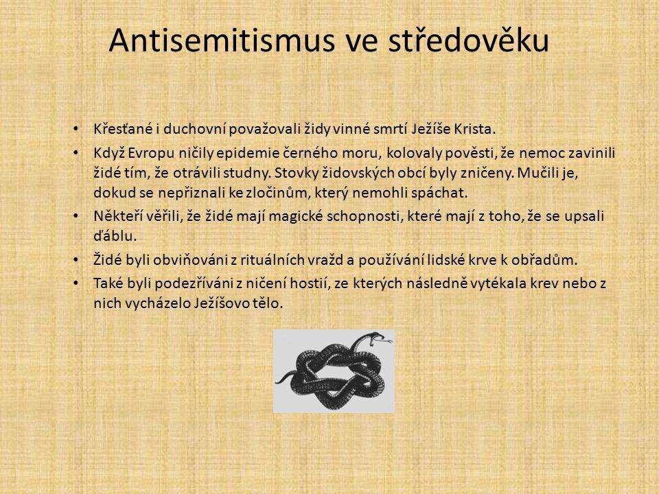 Antisemitismus ve středověku