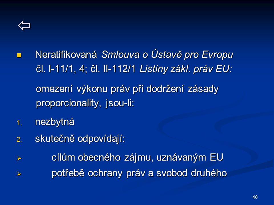  Neratifikovaná Smlouva o Ústavě pro Evropu