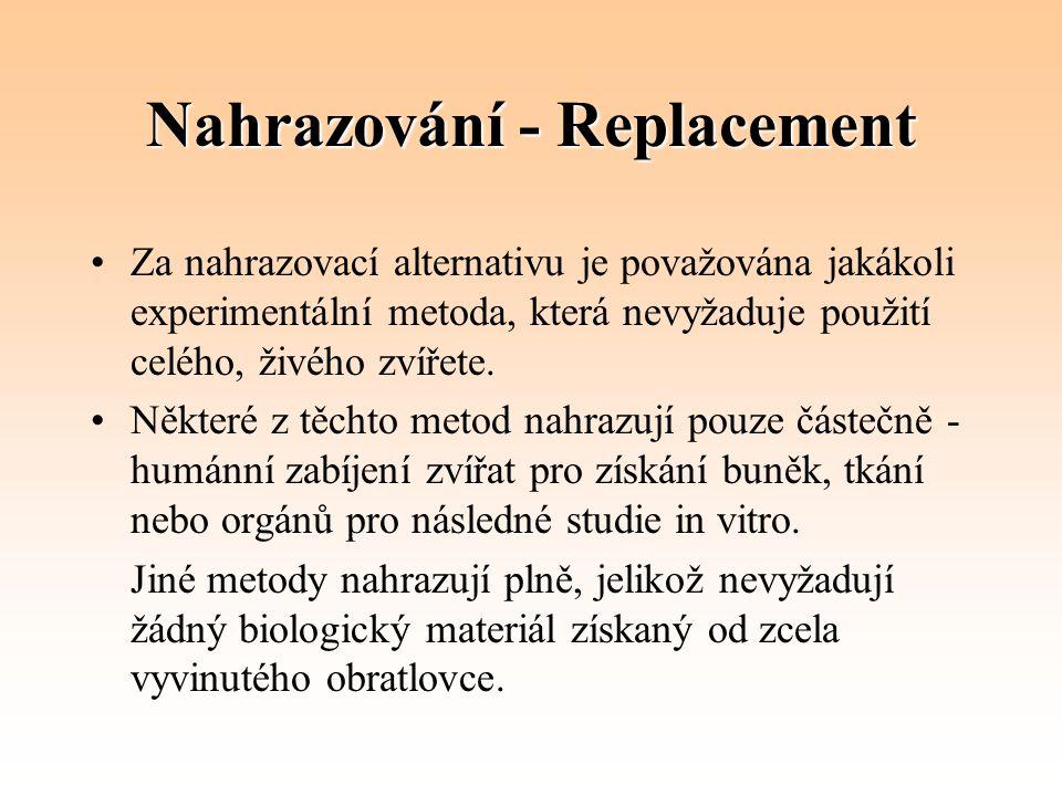 Nahrazování - Replacement