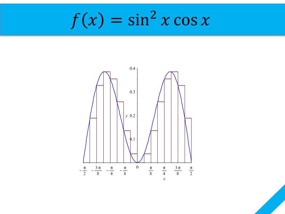 𝑓 𝑥 =si n 2 𝑥 cos 𝑥