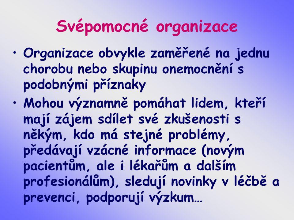 Svépomocné organizace