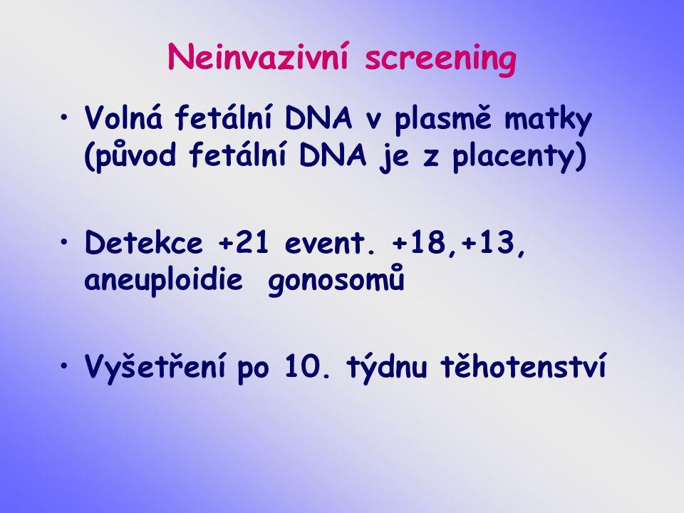 Neinvazivní screening