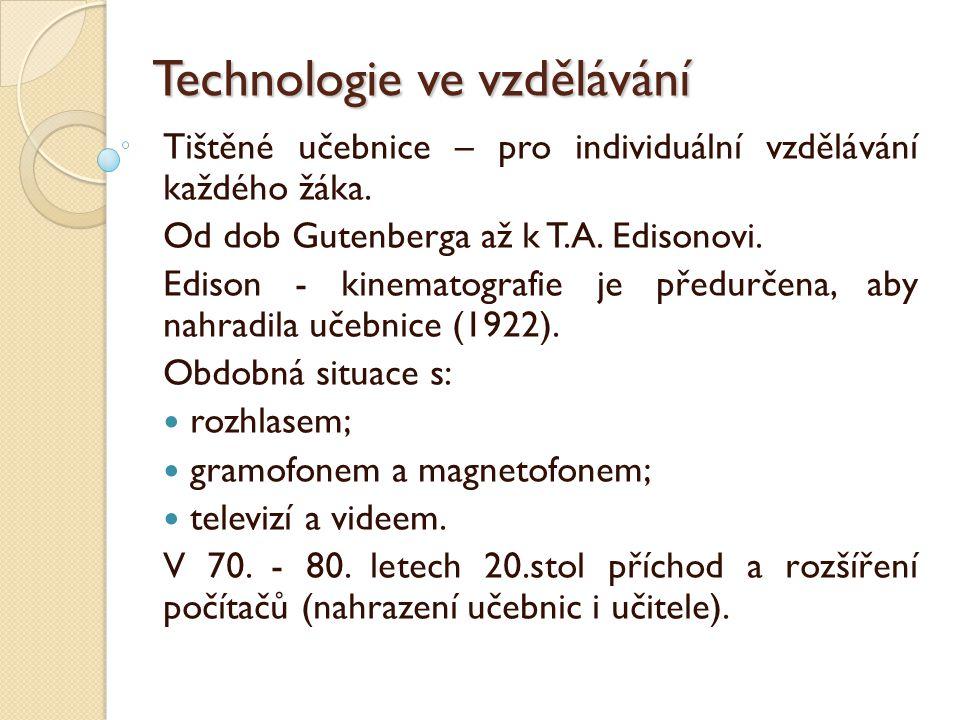 Technologie ve vzdělávání