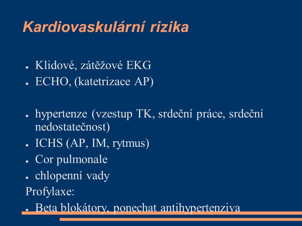 Kardiovaskulární rizika