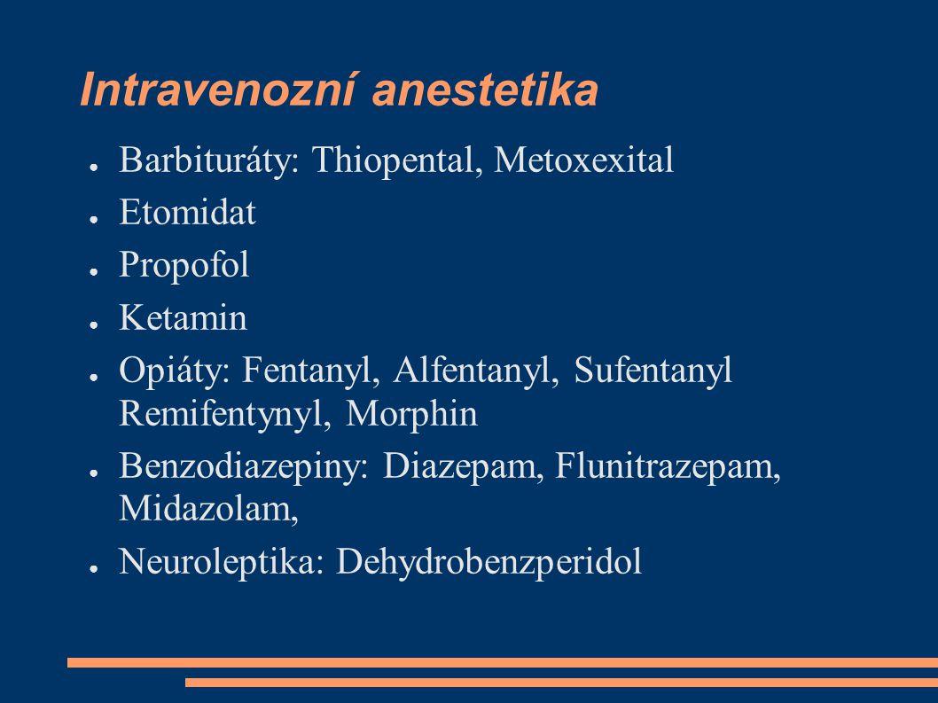 Intravenozní anestetika