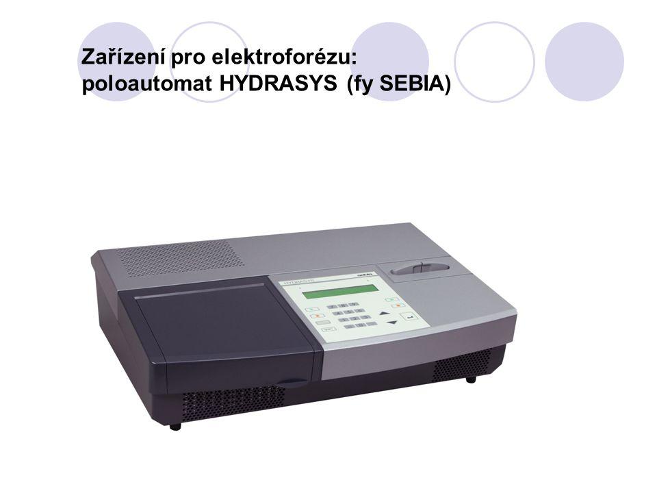 Zařízení pro elektroforézu: