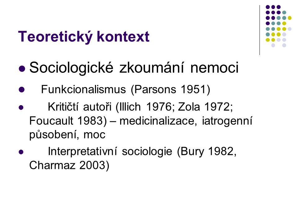 Sociologické zkoumání nemoci