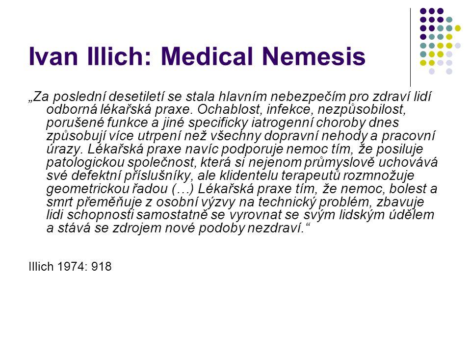 Ivan Illich: Medical Nemesis
