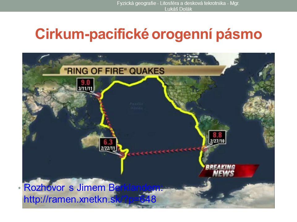 Cirkum-pacifické orogenní pásmo