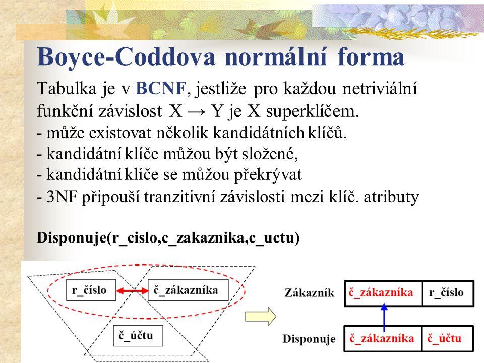 Boyce-Coddova normální forma