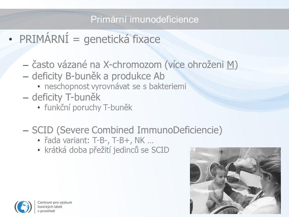 Primární imunodeficience