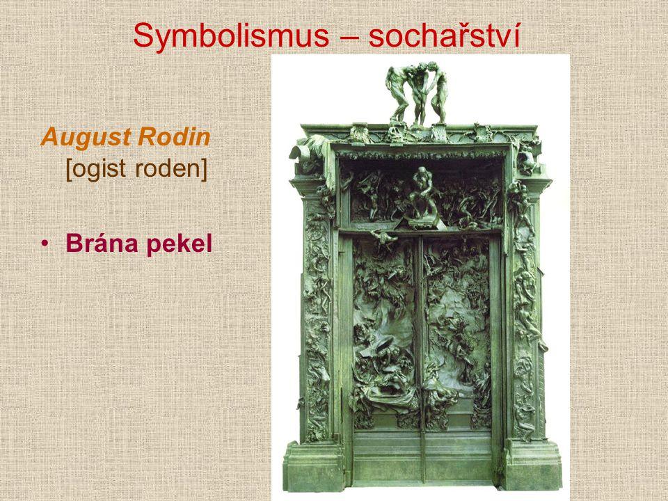 Symbolismus – sochařství