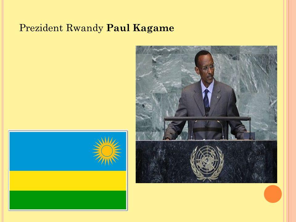 Prezident Rwandy Paul Kagame