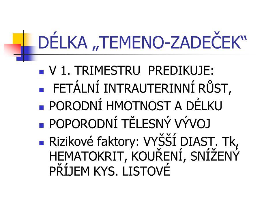 """DÉLKA """"TEMENO-ZADEČEK"""