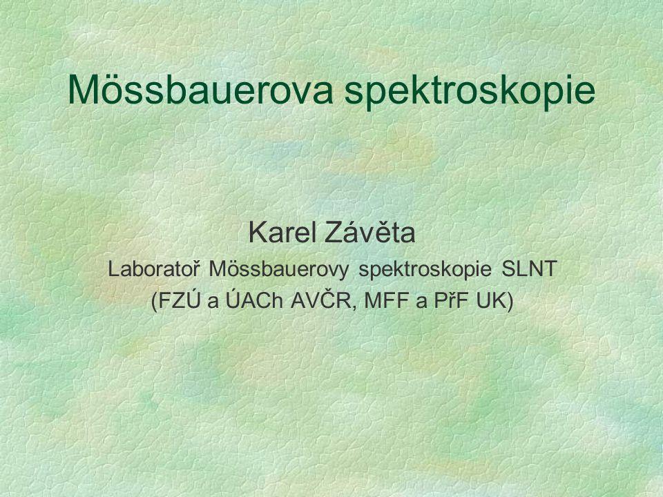 Mössbauerova spektroskopie