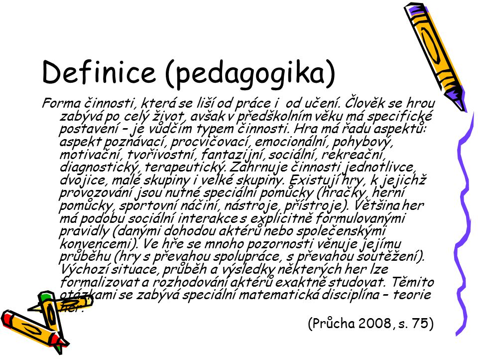 Definice (pedagogika)