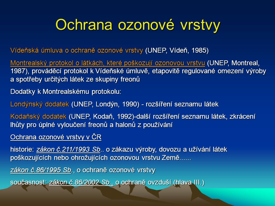 Ochrana ozonové vrstvy