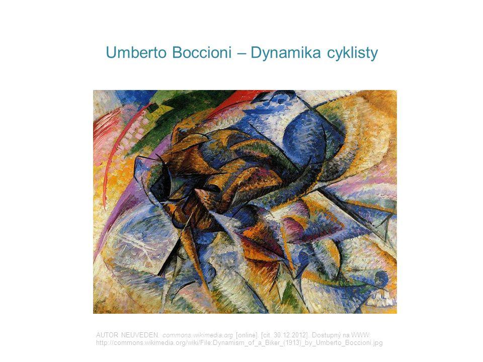 Umberto Boccioni – Dynamika cyklisty