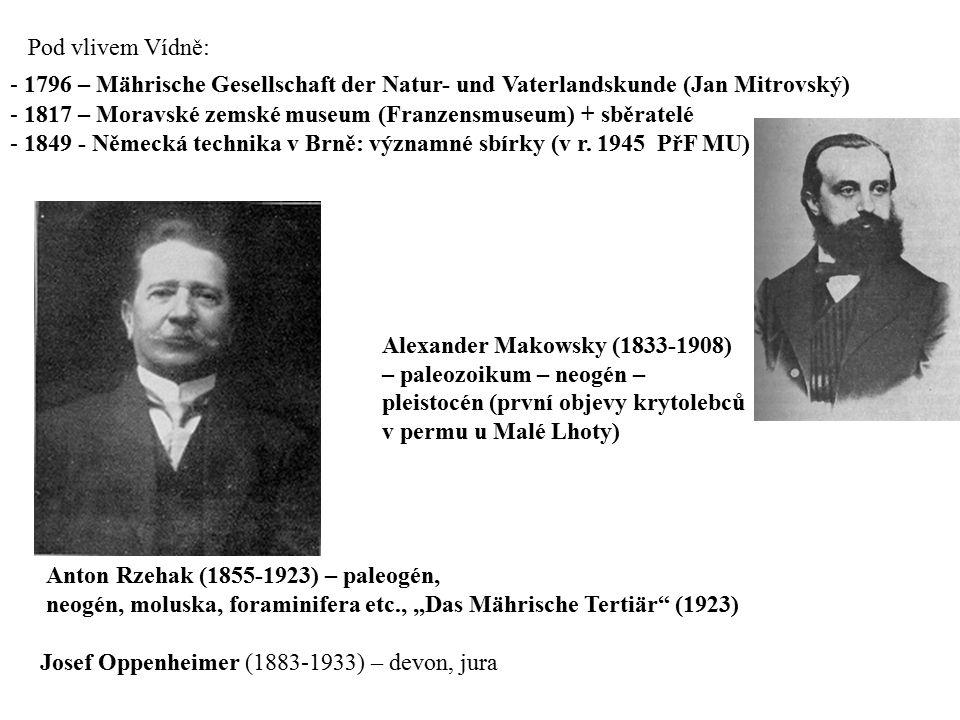 Pod vlivem Vídně: 1796 – Mährische Gesellschaft der Natur- und Vaterlandskunde (Jan Mitrovský)