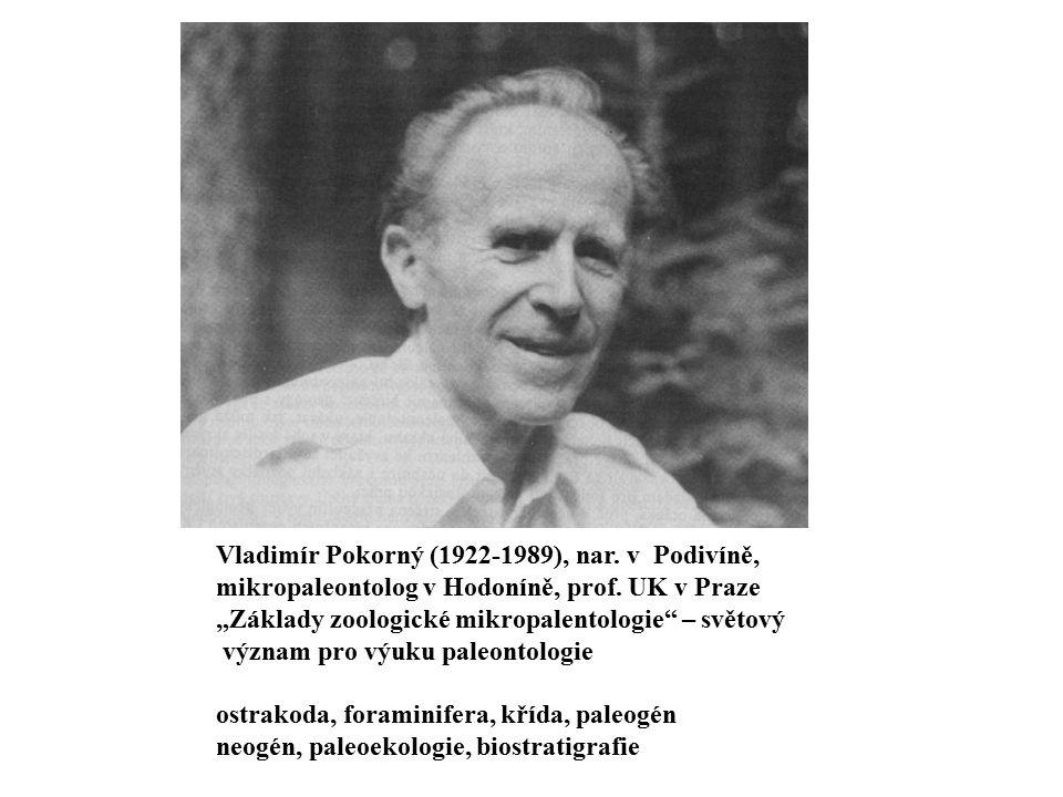Vladimír Pokorný (1922-1989), nar. v Podivíně,