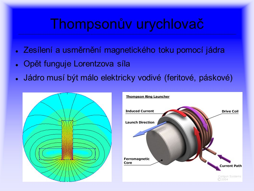 Thompsonův urychlovač