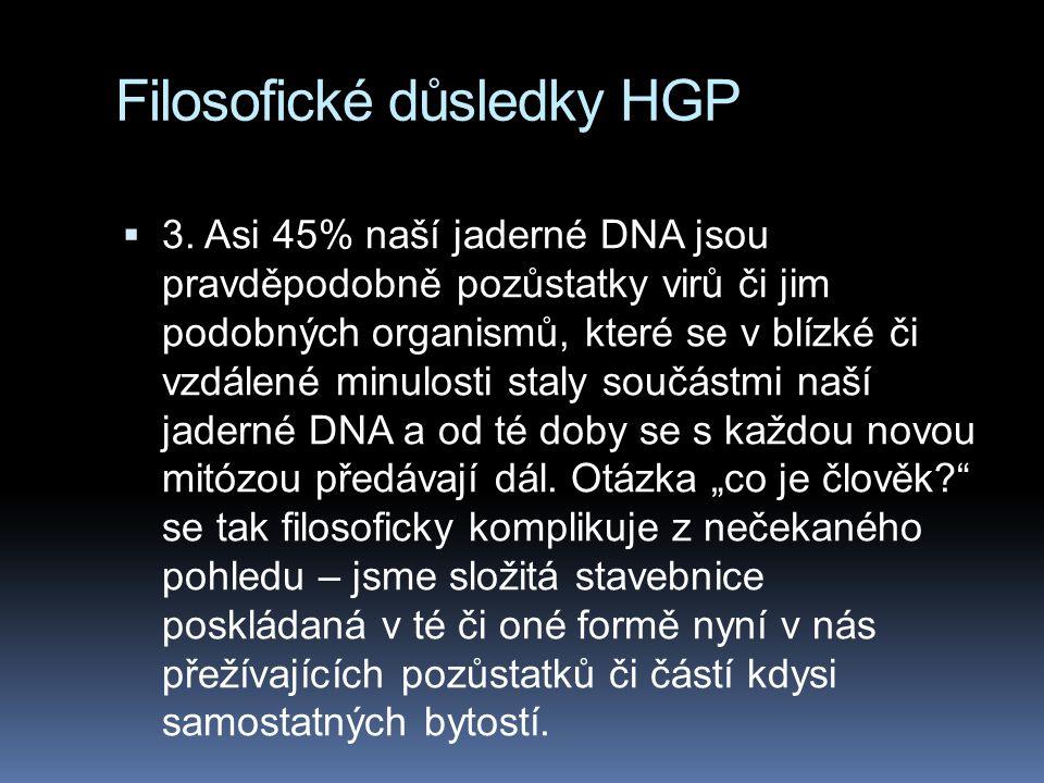 Filosofické důsledky HGP