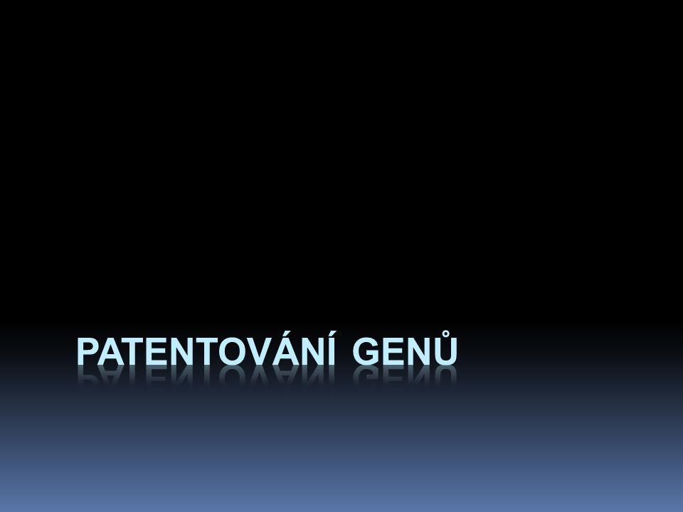 patentování genů