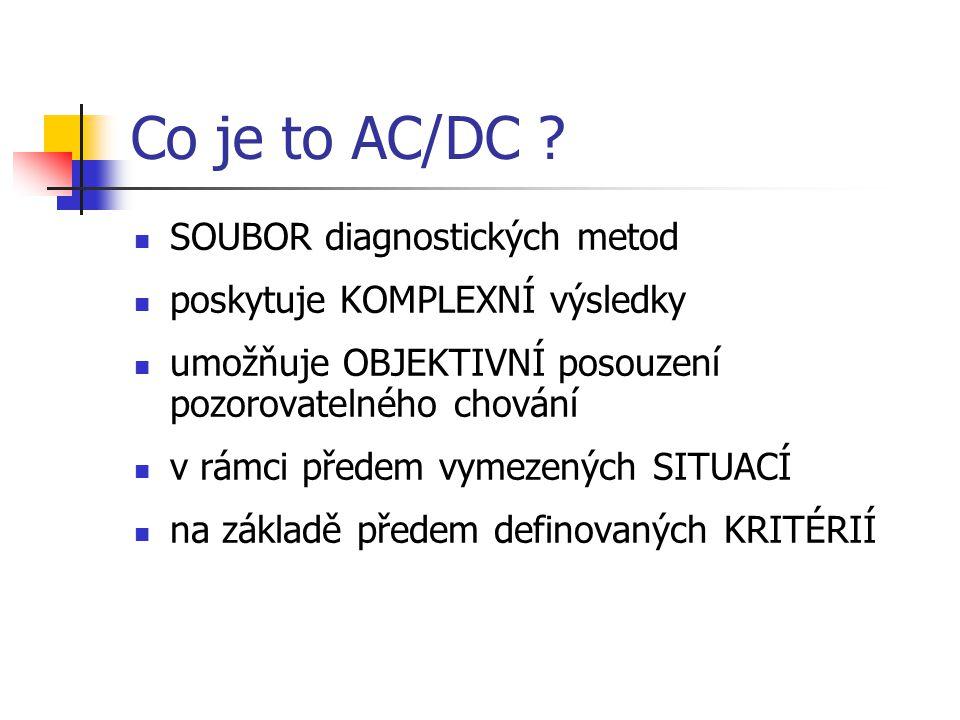 Co je to AC/DC SOUBOR diagnostických metod
