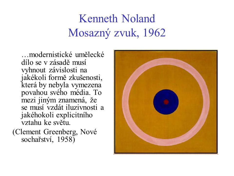 Kenneth Noland Mosazný zvuk, 1962