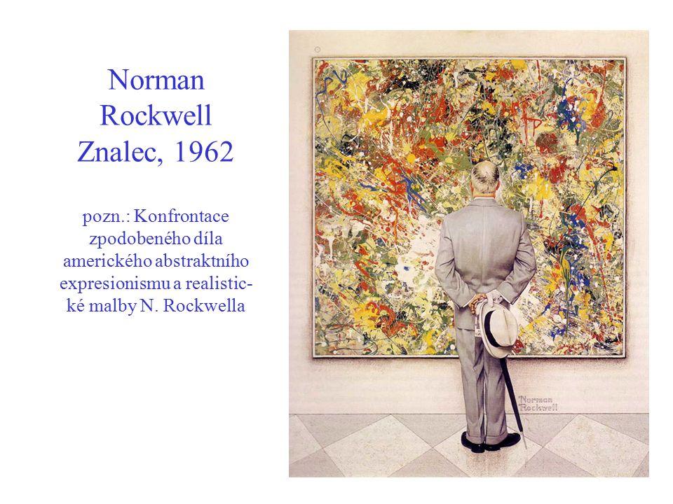 Norman Rockwell Znalec, 1962 pozn