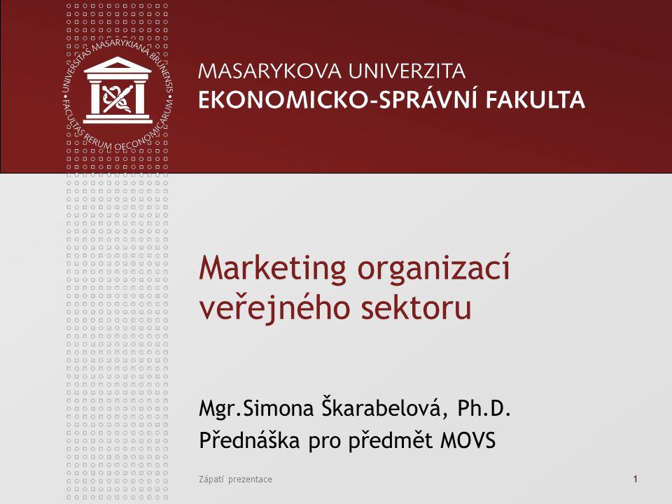 Marketing organizací veřejného sektoru