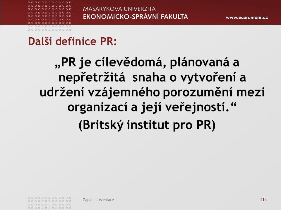 (Britský institut pro PR)