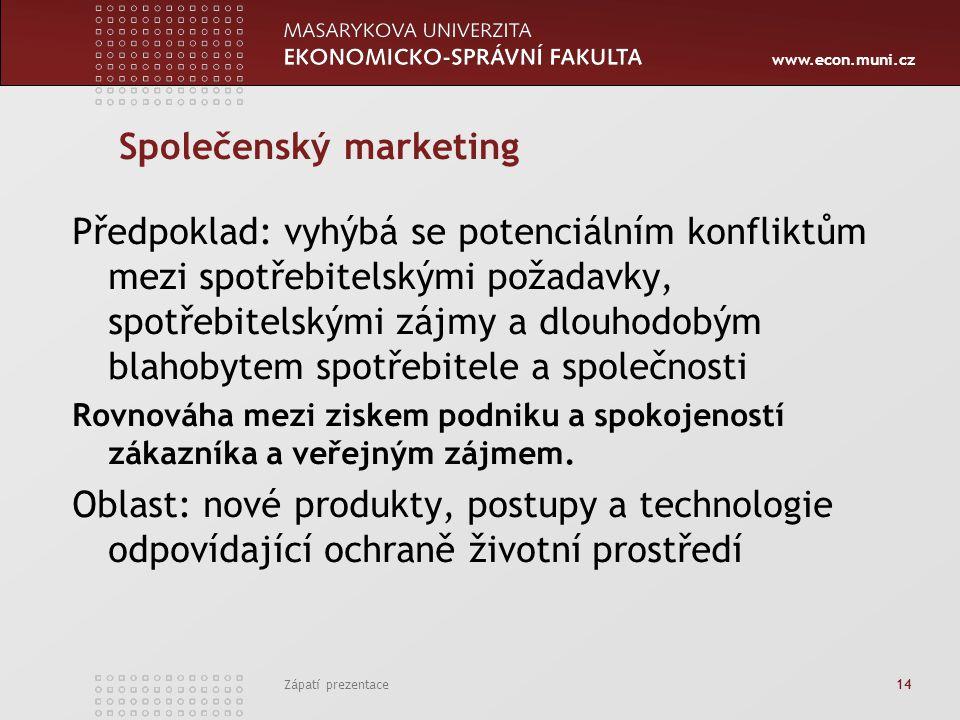 Společenský marketing