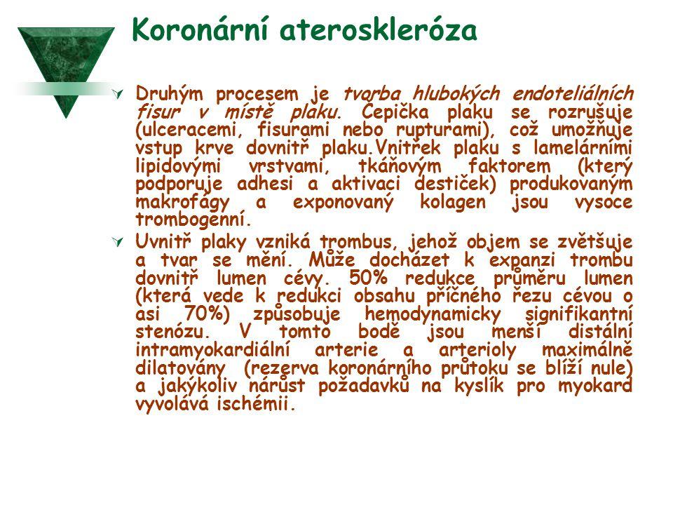 Koronární ateroskleróza