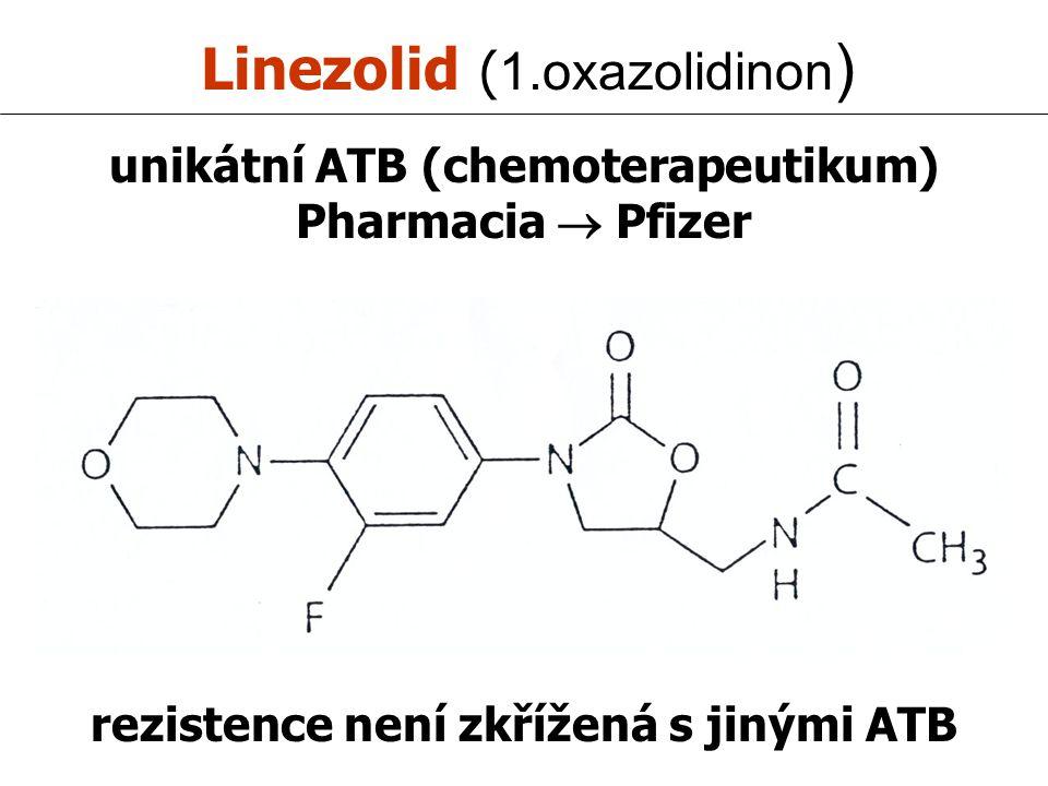 Linezolid (1.oxazolidinon)