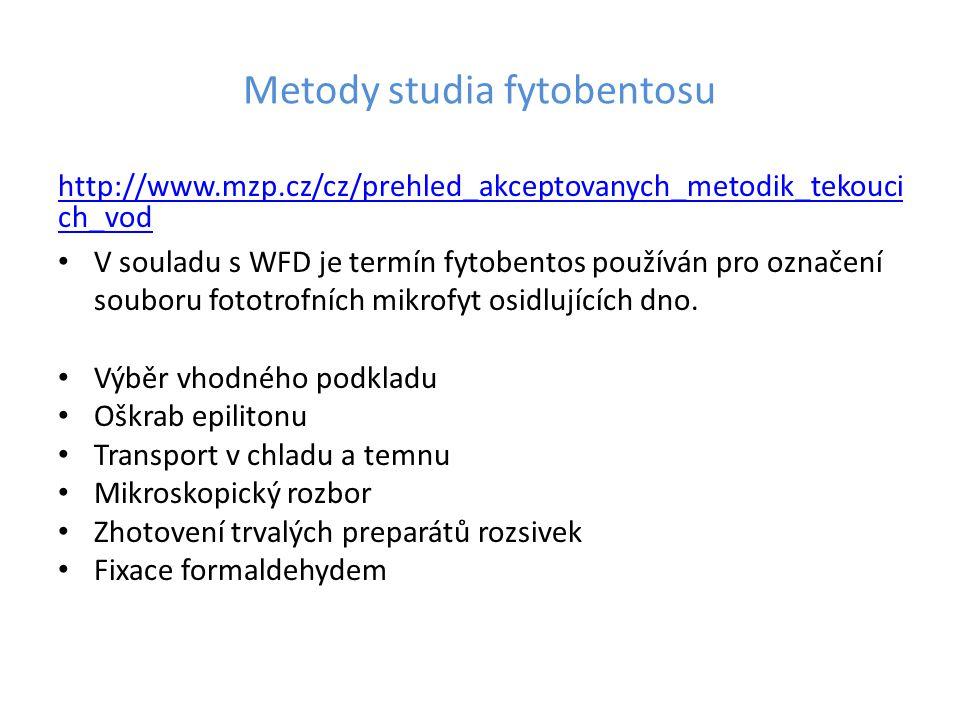 Metody studia fytobentosu