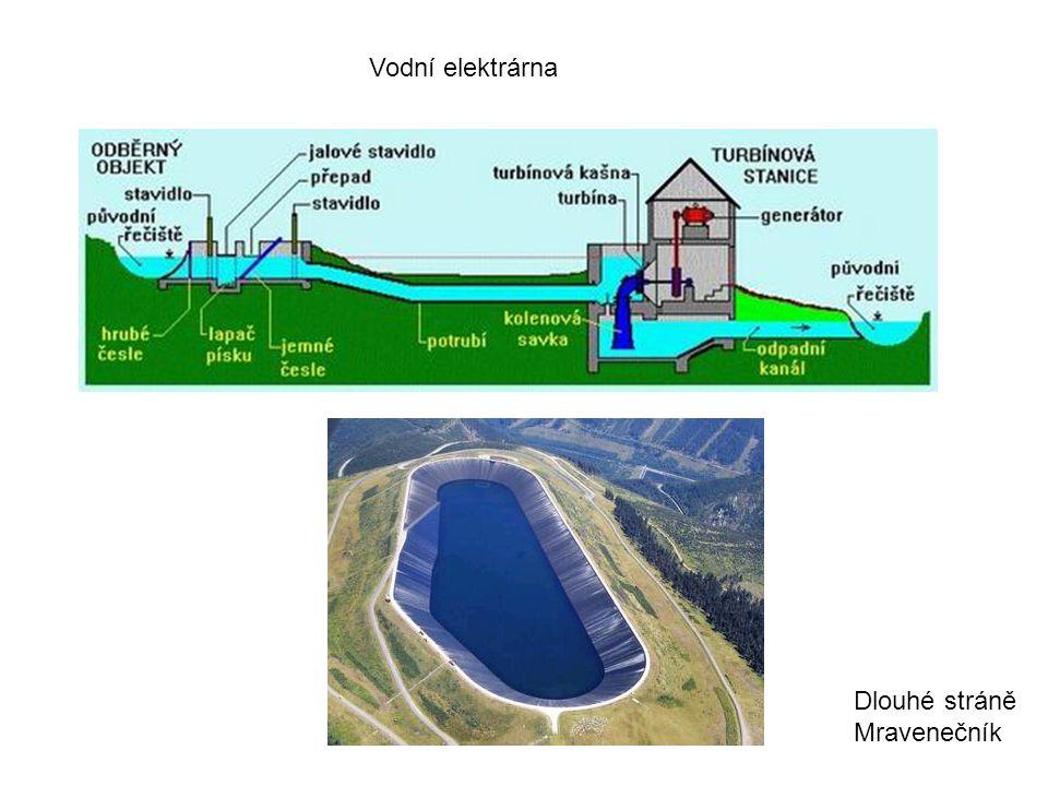 Vodní elektrárna Dlouhé stráně Mravenečník