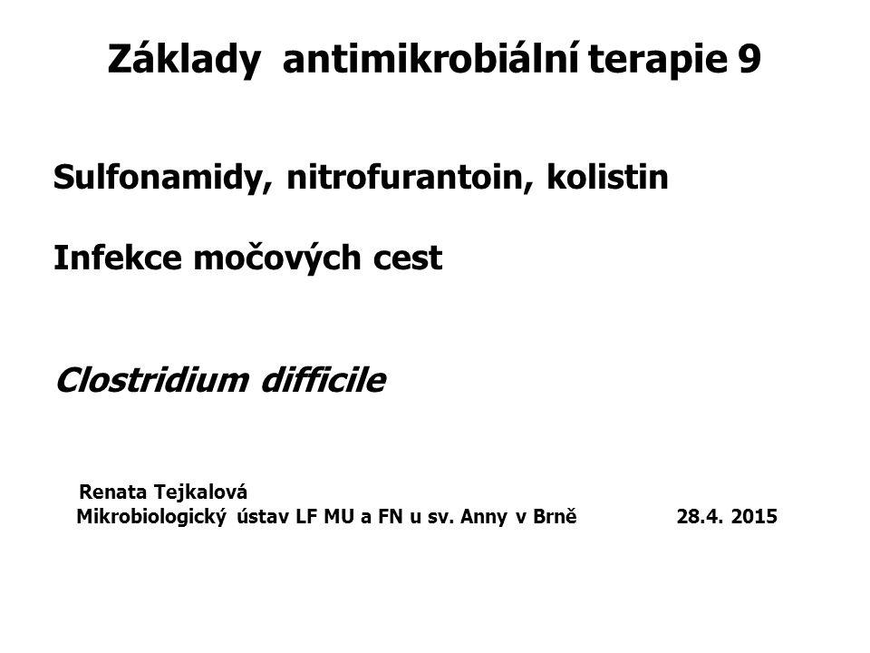 Základy antimikrobiální terapie 9