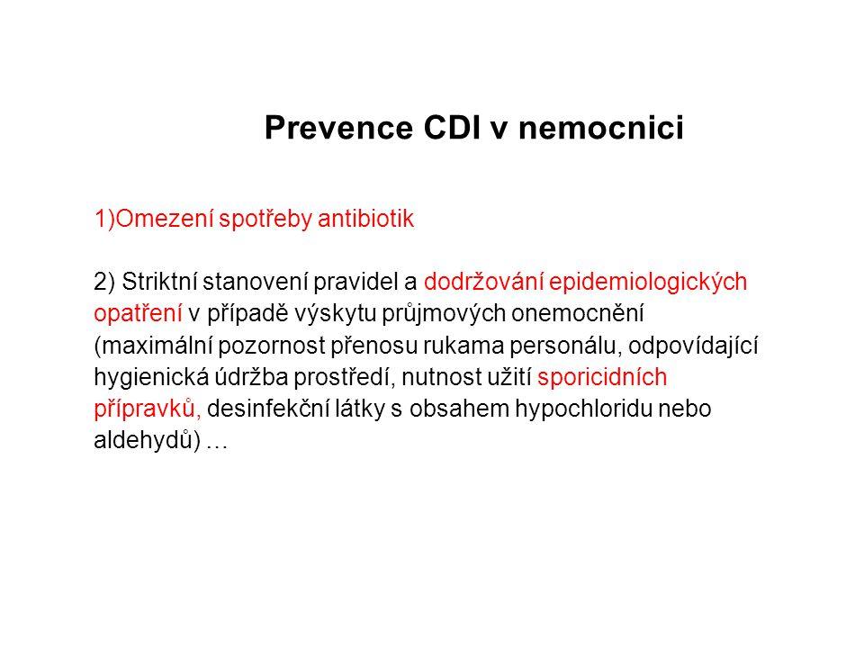 Prevence CDI v nemocnici