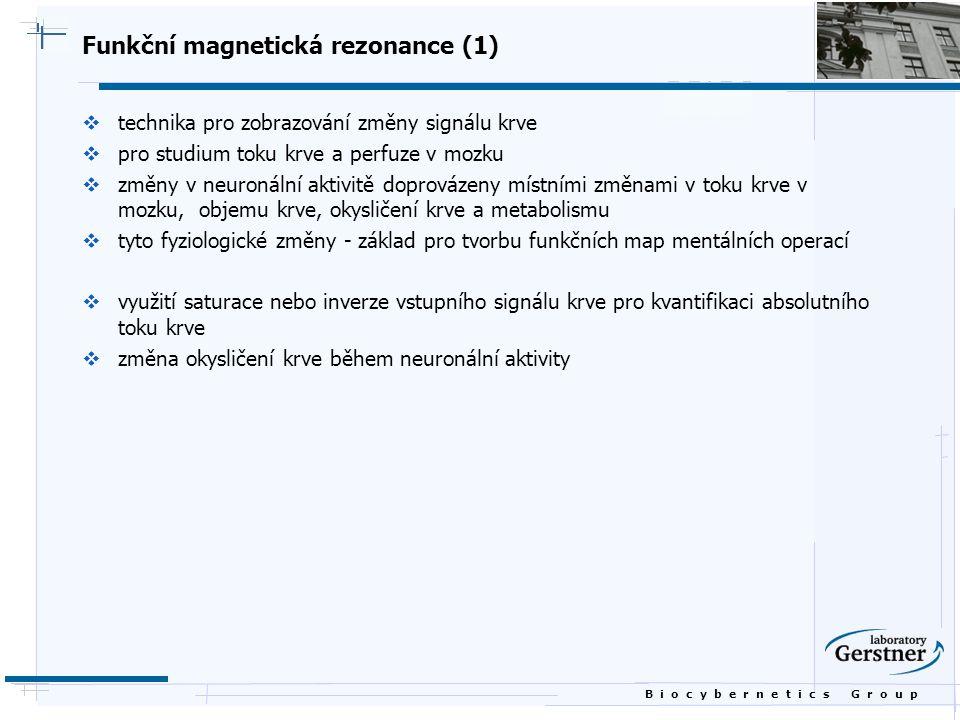 Funkční magnetická rezonance (1)