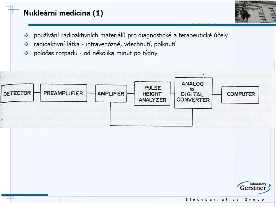 Nukleární medicína (1) používání radioaktivních materiálů pro diagnostické a terapeutické účely.