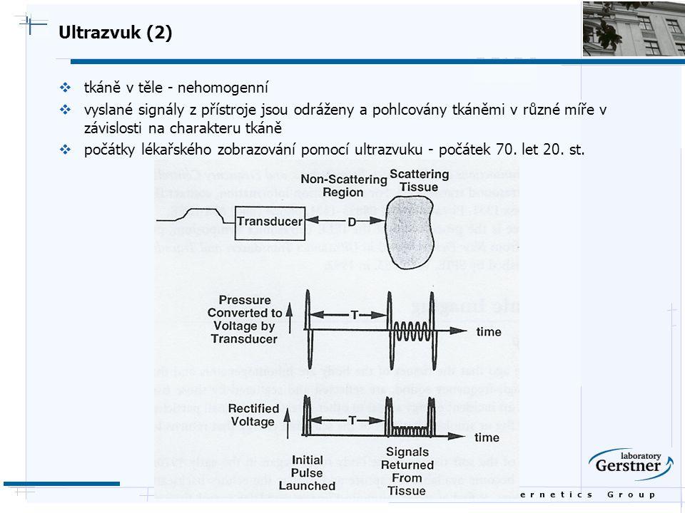 Ultrazvuk (2) tkáně v těle - nehomogenní