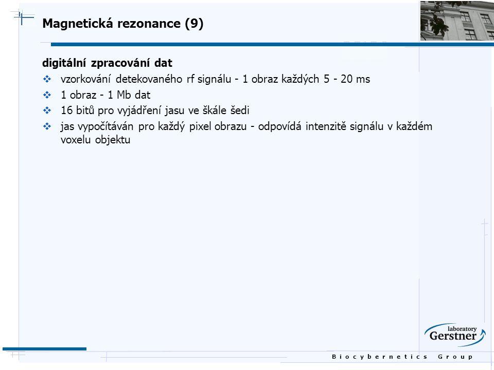 Magnetická rezonance (9)