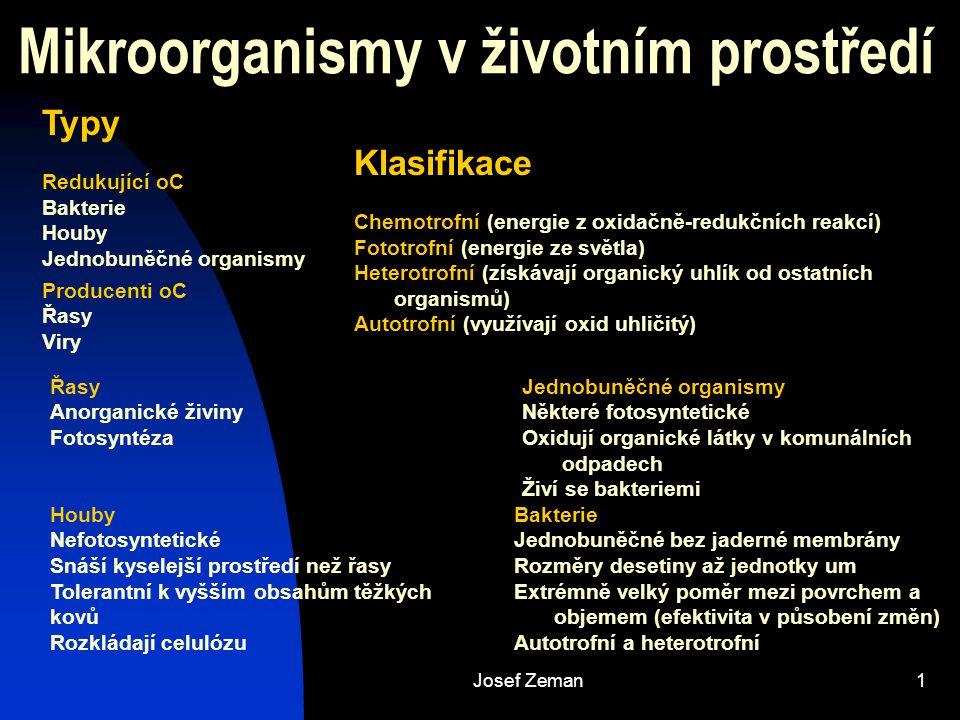 Mikroorganismy v životním prostředí